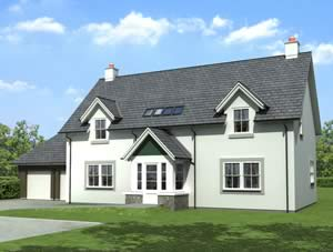 Clathymore Plot 31 Artist's impression